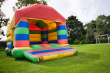 Bouncy castle with cover
