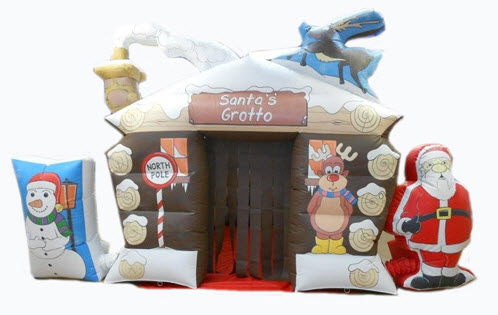Santas Grotto-inflatable