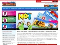 Online Booking Software for Bouncy Castle Hire Companies